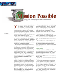 Mission Possible Article